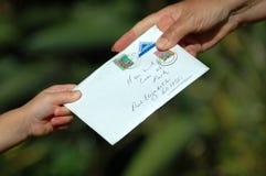 αποκτημένο ταχυδρομείο VE εσείς Στοκ εικόνα με δικαίωμα ελεύθερης χρήσης