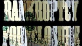Αποκλεισμός πτώχευσης - τραπεζική έννοια επένδυσης φιλμ μικρού μήκους
