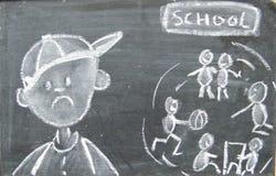 Αποκλεισμός στο σχολείο Στοκ φωτογραφία με δικαίωμα ελεύθερης χρήσης