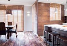 Αποκλειστικό dinning δωμάτιο Στοκ εικόνα με δικαίωμα ελεύθερης χρήσης