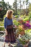 Απολαμβάνοντας το βοτανικό ο βοτανικός κήπος 3 Στοκ εικόνες με δικαίωμα ελεύθερης χρήσης