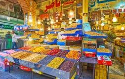 Απολαύστε την ανατολική κουζίνα στην Τεχεράνη μεγάλο Bazaar Στοκ εικόνες με δικαίωμα ελεύθερης χρήσης