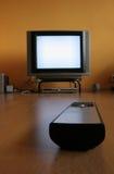 απομακρυσμένη TV ελέγχου Στοκ φωτογραφίες με δικαίωμα ελεύθερης χρήσης
