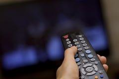 απομακρυσμένη TV Στοκ Εικόνες
