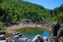 απομακρυσμένος ποταμός τ στοκ εικόνες
