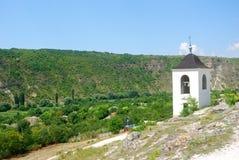 Απομακρυσμένο μοναστήρι, Orheul Vechi, Μολδαβία Στοκ Εικόνες