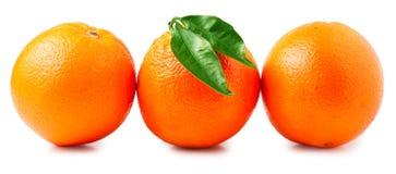 απομονωμένα ανασκόπηση πορτοκάλια τρία αντικειμένου λευκό Στοκ εικόνα με δικαίωμα ελεύθερης χρήσης