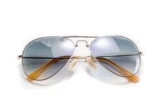 Απομονωμένα γυαλιά ηλίου ύφους αεροπόρων Στοκ φωτογραφία με δικαίωμα ελεύθερης χρήσης
