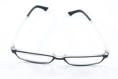 Απομονωμένα γυαλιά Στοκ εικόνες με δικαίωμα ελεύθερης χρήσης