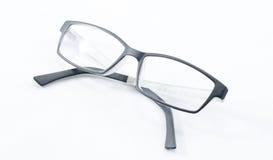 Απομονωμένα γυαλιά Στοκ Εικόνες