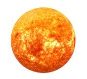 Απομονωμένα ηλιακό σύστημα στοιχεία ήλιων αυτής της εικόνας που εφοδιάζεται από τη NASA Στοκ φωτογραφία με δικαίωμα ελεύθερης χρήσης