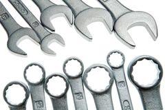 απομονωμένα καθορισμένα κλειδιά Στοκ φωτογραφία με δικαίωμα ελεύθερης χρήσης