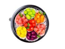 Απομονωμένα μίμησης φρούτα στοκ φωτογραφία με δικαίωμα ελεύθερης χρήσης