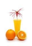 απομονωμένα πορτοκάλια χ&u Στοκ Φωτογραφία