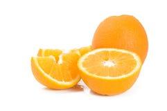 απομονωμένα πορτοκάλια Στοκ Φωτογραφίες