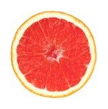 Απομονωμένα πορτοκάλια φρούτων σε ένα άσπρο υπόβαθρο Στοκ εικόνα με δικαίωμα ελεύθερης χρήσης