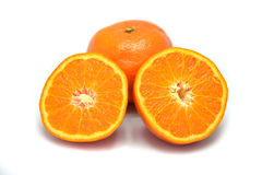 απομονωμένα πορτοκάλια Στοκ Εικόνα