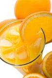 απομονωμένα πορτοκαλιά π&om Στοκ εικόνα με δικαίωμα ελεύθερης χρήσης