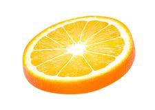 Απομονωμένα πορτοκαλιά φρούτα Στοκ φωτογραφίες με δικαίωμα ελεύθερης χρήσης