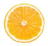 Απομονωμένα πορτοκαλιά φρούτα Στοκ Εικόνες