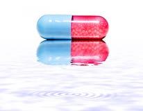 απομονωμένα χάπια Στοκ Φωτογραφία