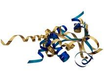απομονωμένα twirls κορδελλών ανθοκόμων δώρο Στοκ φωτογραφία με δικαίωμα ελεύθερης χρήσης