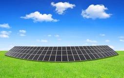 απομονωμένες ενέργεια επιτροπές αντικειμένου ηλιακές Στοκ Φωτογραφία