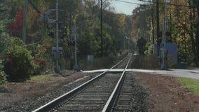 Απομονωμένες διαδρομές σιδηροδρόμου (1 5) απόθεμα βίντεο