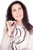 απομονωμένες νεολαίες λευκών γυναικών πεννών Στοκ φωτογραφία με δικαίωμα ελεύθερης χρήσης