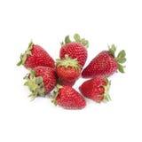 απομονωμένες φράουλες Στοκ Εικόνα