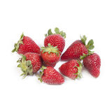 απομονωμένες φράουλες Στοκ φωτογραφία με δικαίωμα ελεύθερης χρήσης