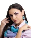 απομονωμένες brunette νεολαίε&si στοκ φωτογραφία με δικαίωμα ελεύθερης χρήσης