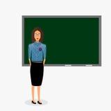 Απομονωμένη δάσκαλος διανυσματική απεικόνιση Στοκ φωτογραφία με δικαίωμα ελεύθερης χρήσης