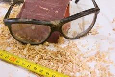 απομονωμένη γυαλιά ταινία & Στοκ φωτογραφία με δικαίωμα ελεύθερης χρήσης