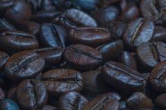 απομονωμένη ιδανικό μακροεντολή καφέ προγευμάτων φασολιών πέρα από το λευκό Στοκ Φωτογραφία