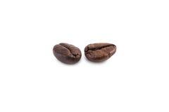 απομονωμένη ιδανικό μακροεντολή καφέ προγευμάτων φασολιών πέρα από το λευκό Στοκ Εικόνες