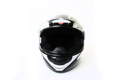 απομονωμένη κράνος μοτοσικλέτα στοκ εικόνα με δικαίωμα ελεύθερης χρήσης