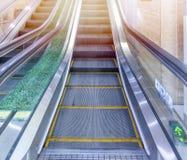 Απομονωμένη κυλιόμενη σκάλα Στοκ φωτογραφία με δικαίωμα ελεύθερης χρήσης