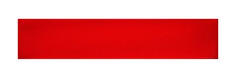 απομονωμένη κόκκινη κορδέλλα Στοκ φωτογραφίες με δικαίωμα ελεύθερης χρήσης