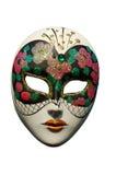 απομονωμένη μάσκα Βενετός Στοκ Φωτογραφία