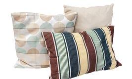 Απομονωμένη μαξιλάρι κρεβατοκάμαρα Στοκ φωτογραφία με δικαίωμα ελεύθερης χρήσης
