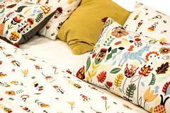 Απομονωμένη μαξιλάρι κρεβατοκάμαρα Στοκ Φωτογραφίες