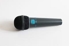 Απομονωμένη μικρόφωνο φωτογραφία Στοκ εικόνες με δικαίωμα ελεύθερης χρήσης