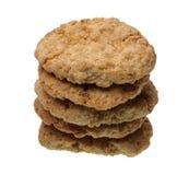 απομονωμένη μπισκότα στοίβ& Στοκ φωτογραφίες με δικαίωμα ελεύθερης χρήσης