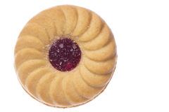 απομονωμένη μπισκότο μακρ&omi Στοκ εικόνα με δικαίωμα ελεύθερης χρήσης