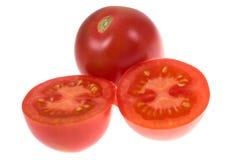 απομονωμένη ντομάτα Στοκ Φωτογραφίες