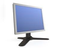 απομονωμένη οθόνη LCD Στοκ Εικόνες