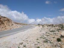 Απομονωμένη οδική στροφή στοκ φωτογραφία