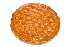 απομονωμένη πίτα Στοκ Εικόνες