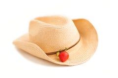 απομονωμένη φράουλα Στοκ φωτογραφία με δικαίωμα ελεύθερης χρήσης